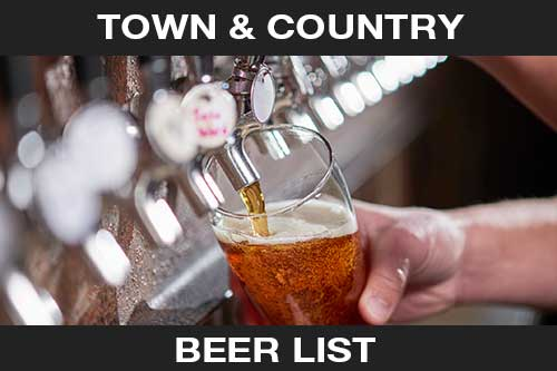 Town & Country Beer List